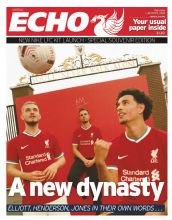 Liverpool Echo - Saturday 1st August 2020 - NIKE SPECIAL